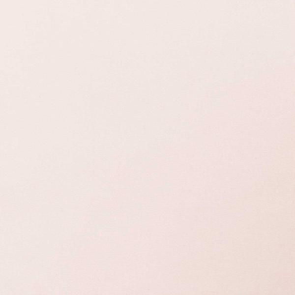 Tissu Toile coton à la coupe - Rose poudré uni - Par 10 cm - Photo n°1