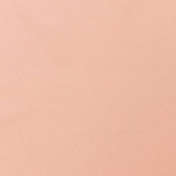 Tissu Toile coton à la coupe - Rose saumon uni - Par 10 cm - Photo n°1