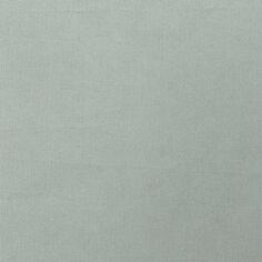 Tissu Toile coton à la coupe - Bleu fumé uni - Par 10 cm