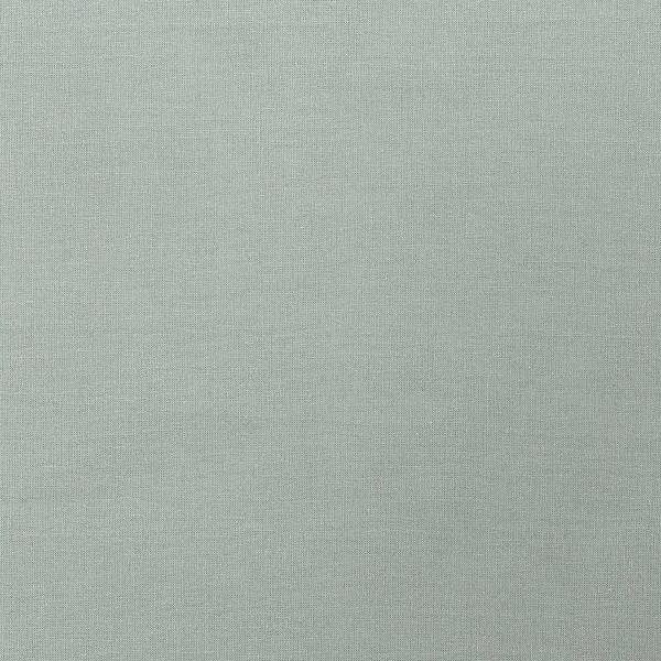 Tissu Toile coton à la coupe - Bleu fumé uni - Par 10 cm - Photo n°1