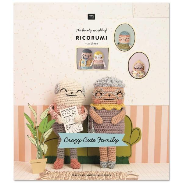 Livre crochet Ricorumi - Crazy cute family - 8 modèles - Photo n°1