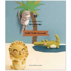 Livre crochet Ricorumi - Wild wild animals - 8 modèles