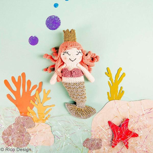 Kit crochet Ricorumi - Sirène - Photo n°2