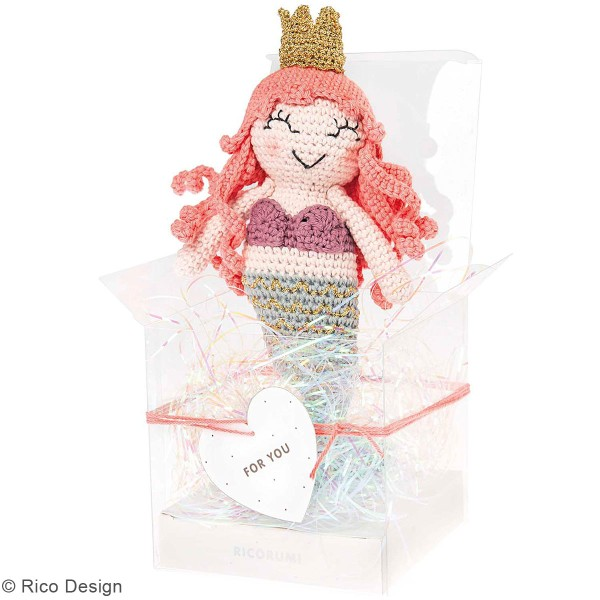 Kit crochet Ricorumi - Sirène - Photo n°3