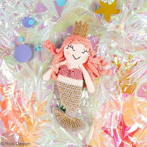 Kit crochet Ricorumi - Sirène - Photo n°4