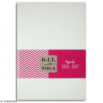 Agenda 2016-2017 à décorer - 316 pages