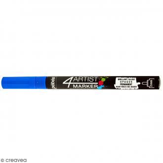 Marqueur à huile 4Artist Marker - Bleu foncé - Pointe ronde - 2 mm
