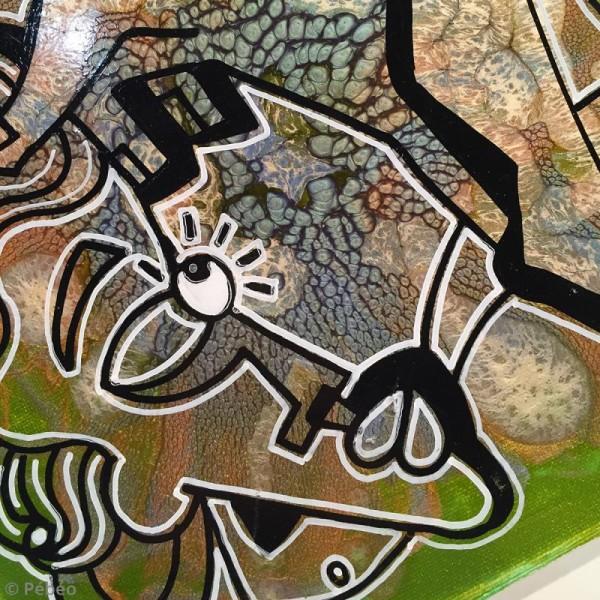 Marqueur à huile 4Artist Marker - Pointe ronde - 4 mm - 18 coloris - Photo n°2