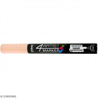 Marqueur à huile 4Artist Marker - Ivoire - Pointe ronde - 4 mm