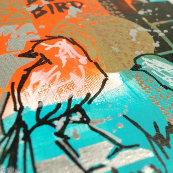 Marqueur à huile 4Artist Marker - Pointe biseautée - 8 mm - 10 coloris - Photo n°3