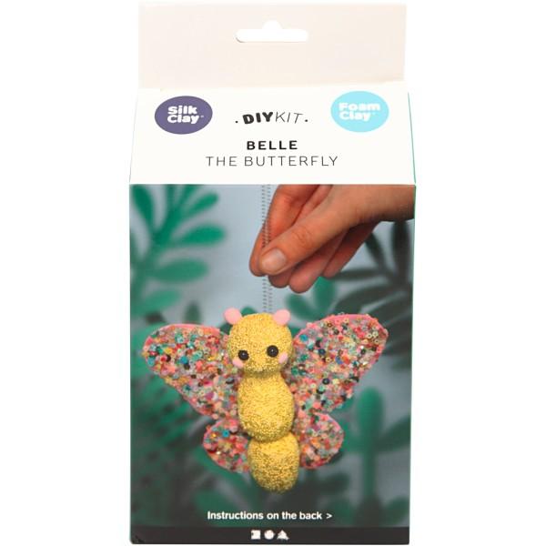 Kit créatif modelage - Belle le papillon - 1 pce - Photo n°2