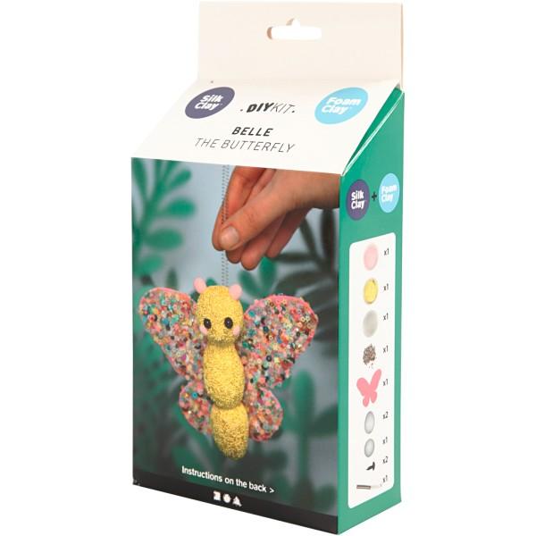 Kit créatif modelage - Belle le papillon - 1 pce - Photo n°3