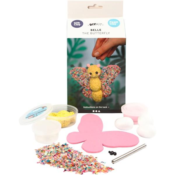Kit créatif modelage - Belle le papillon - 1 pce - Photo n°1
