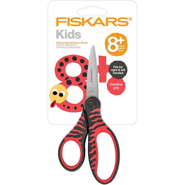 Ciseaux pour enfants - Noir et Rouge - 15 cm - 1 pce - Photo n°2