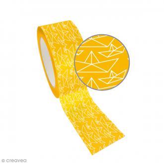 Ruban adhésif Queen Tape Graine Créative - Bateau origami - 48 mm x 8 m
