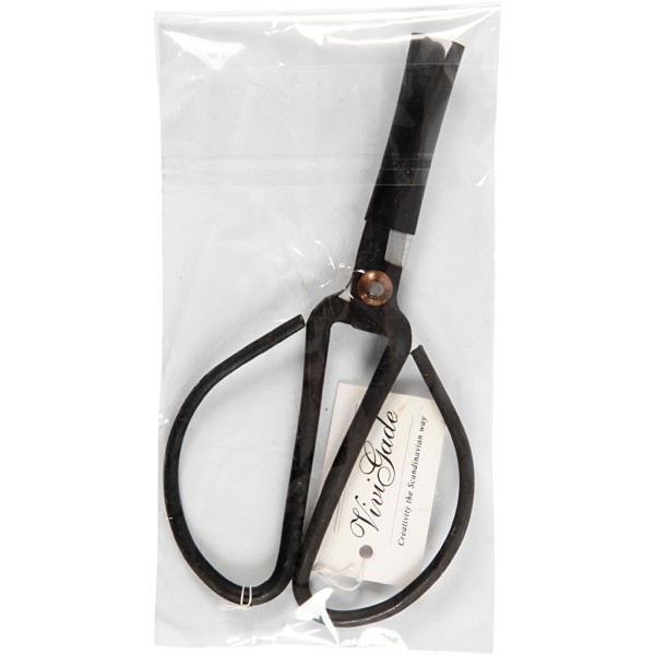 Ciseaux en fer Vivi Gade - Noir - 15 cm - Photo n°2