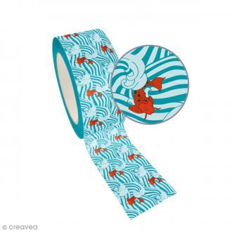 Ruban adhésif Queen Tape Graine Créative - Carpes - 48 mm x 8 m
