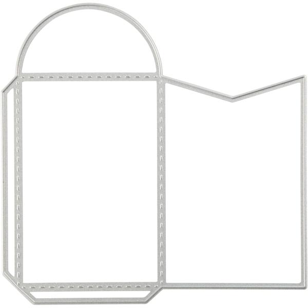 Matrice de coupe - Enveloppe - 12,8 x 12,7 cm - Photo n°1