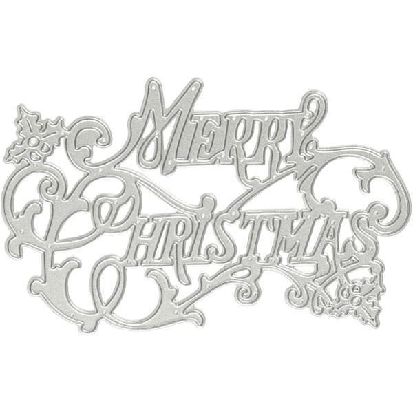 Gabarit de coupe - Merry Christmas - Photo n°1