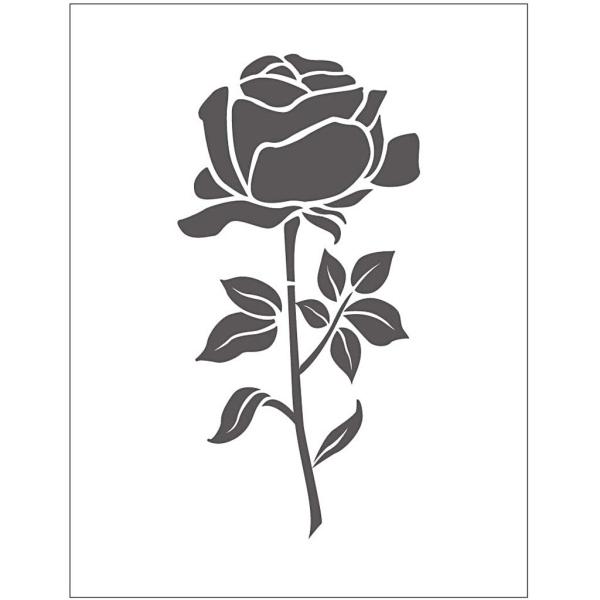 Matrice d'embossage - Rose - 11 x 14 cm - Photo n°1