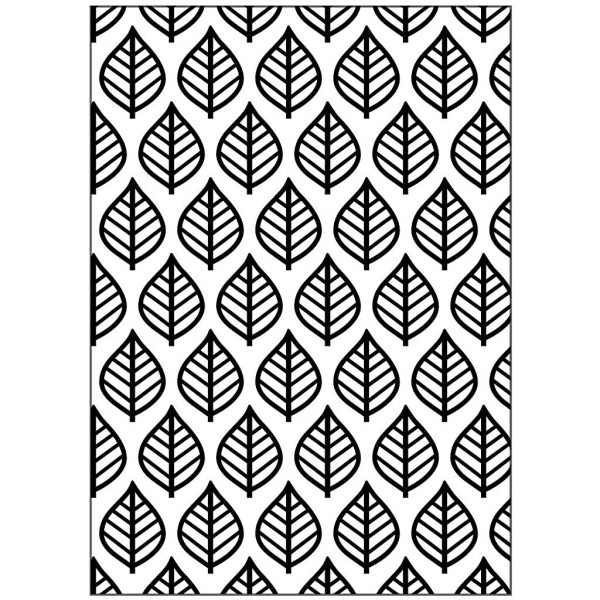 Matrice d'embossage - Feuilles - 13 x 18,5 cm - Photo n°1