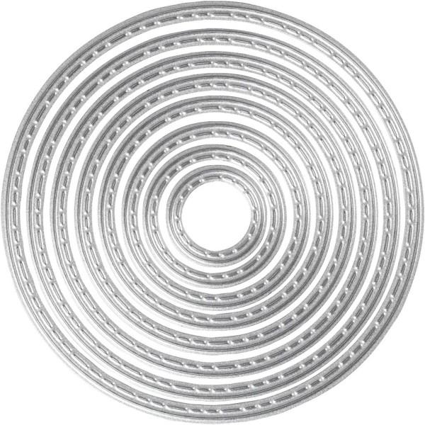 Matrice de coupe - Cercles - 1,5 à 7 cm - Photo n°1