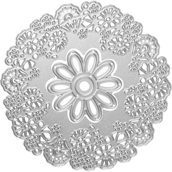 Matrice de coupe - Fleurs - 10,5 cm - Photo n°1