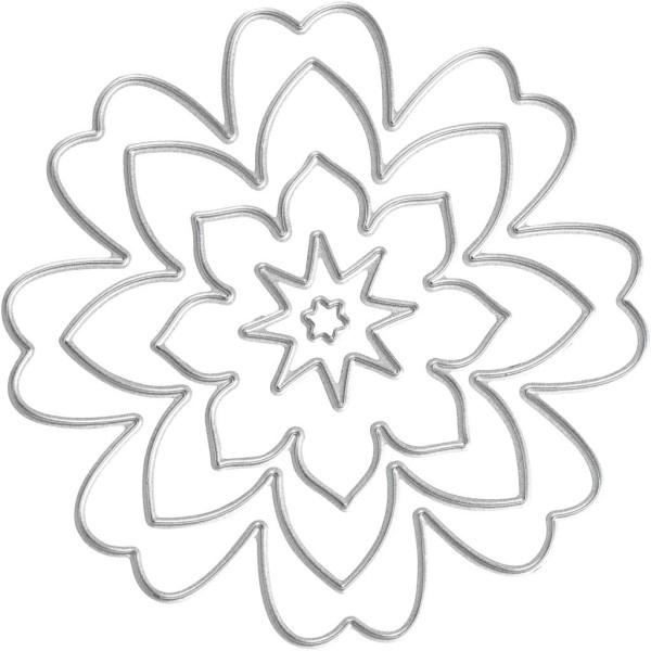Matrice de coupe - Fleurs - 0,5 à 8 cm - Photo n°1
