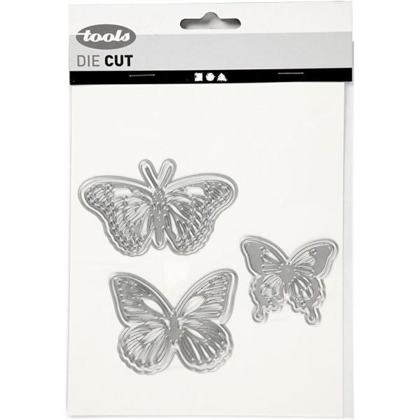 Matrice de coupe - Papillons - 5 à 8 cm - Photo n°2