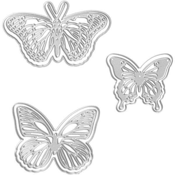 Matrice de coupe - Papillons - 5 à 8 cm - Photo n°1