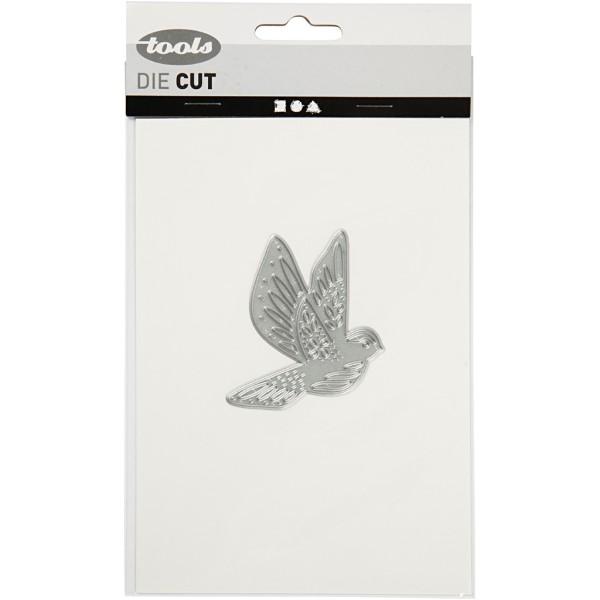 Matrice de coupe - Oiseau - 5,5 x 6 cm - Photo n°2