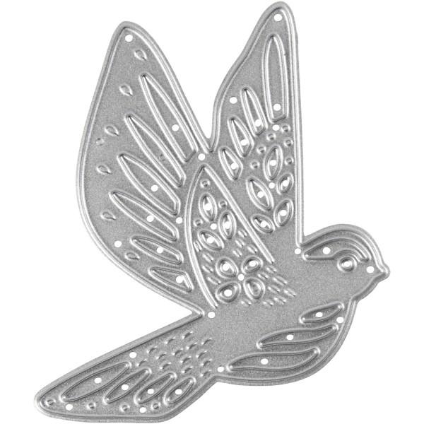 Matrice de coupe - Oiseau - 5,5 x 6 cm - Photo n°1