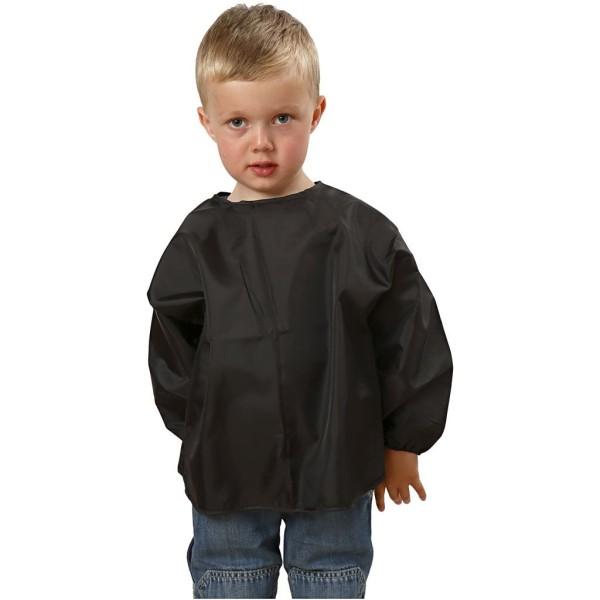 Tablier de peinture noir pour enfant - 2/3 ans - 37 cm - Photo n°2