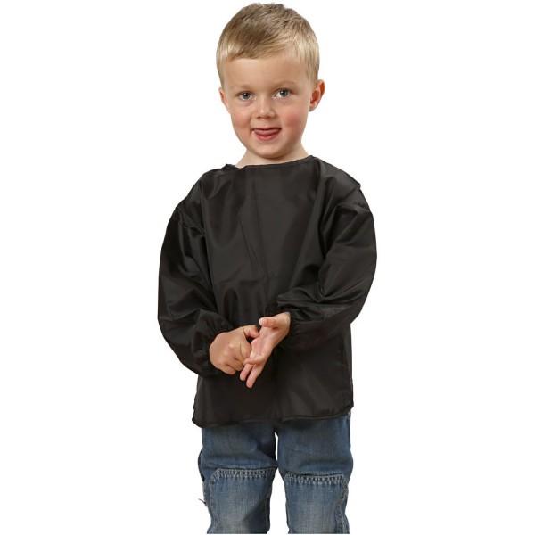 Tablier de peinture noir pour enfant - 2/3 ans - 37 cm - Photo n°1
