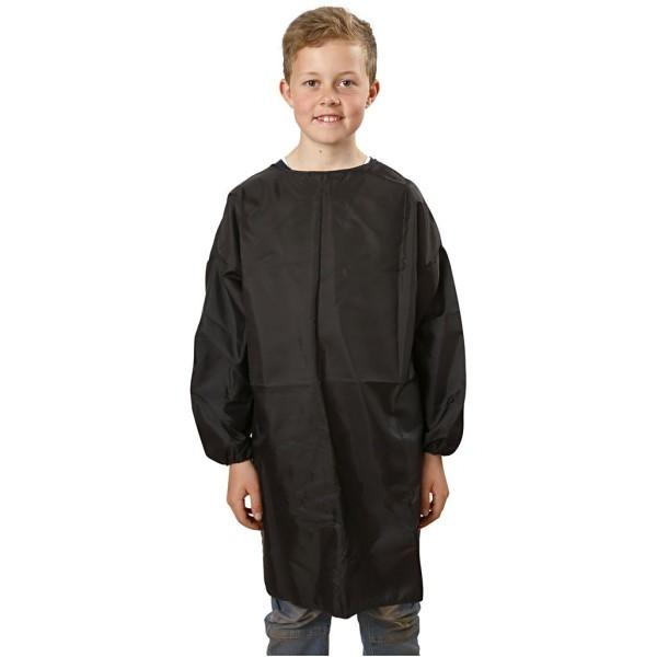 Tablier de peinture noir pour enfant - 7/12 ans - 81 cm - Photo n°1