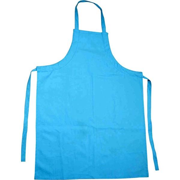 Tablier imperméable bleu - Enfant - 55 x 70 cm - Photo n°1