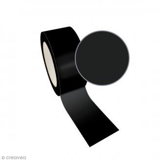 Ruban adhésif Queen Tape Graine Créative - Noir - 48 mm x 8 m