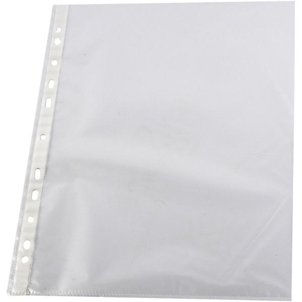Pochettes plastiques transparentes - 100 pcs - Photo n°1
