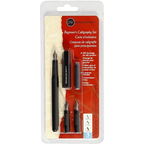 Set de calligraphie - Plume 0,85 à 1,6 mm - 6 pcs - Photo n°2