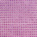 Strass adhésifs en bande - Violet - 10 x 25,5 cm - Photo n°2