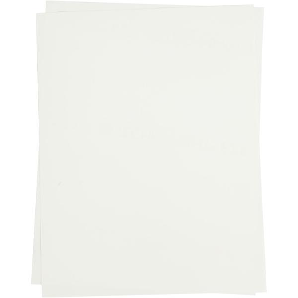 Papier transfert Blanc - 21,5 x 28 cm - 3 pcs - Photo n°1