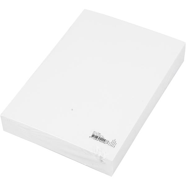 Papier cartonné Blanc - A5 - 250 gr - 100 pcs - Photo n°2