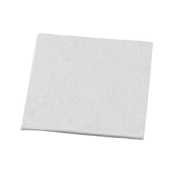 Carton entoilé 100% coton - 10 x 10 cm - 10 pcs - Photo n°1