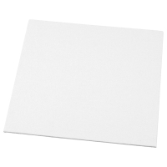 Tableau en toile à peindre - Blanc - 10 x 10 cm 1 pièce