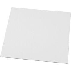 Tableau en toile à peindre - Blanc - 20 x 20 cm 1 pièce