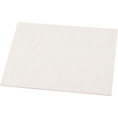 Carton entoil/é en coton blanc 30 x 40 cm