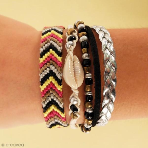 Kit Création de bracelet brésilien manchette - Bling bling - Photo n°2