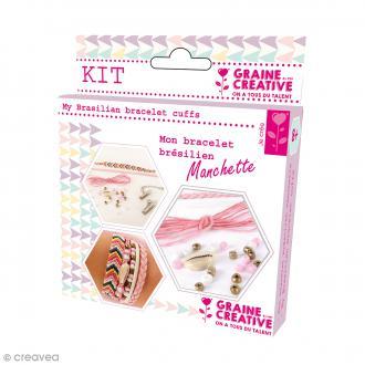 Kit Création de bracelet brésilien manchette - Amour