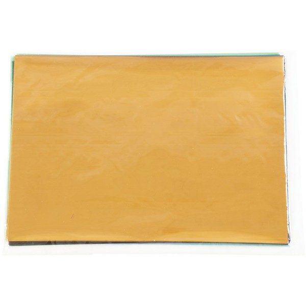 Feuille de plastique fin - 21 x 30 cm - Couleurs assorties - 100 pcs - Photo n°2