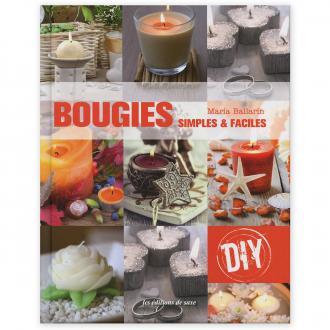 Livre - Bougies, simples & faciles - Maria Ballarin